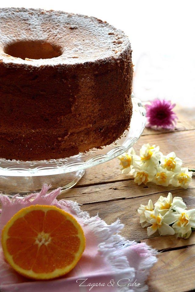 Orange Chiffon Cake | Zagara e Cedro