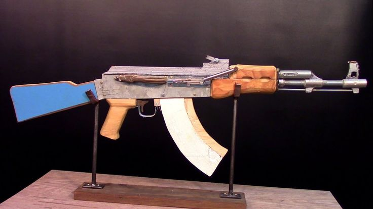 Functioning ak47 out of junk