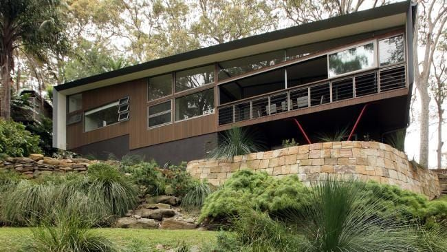 Architect Andrew Coomer And His Wife Jane S Renovated 1950s Clareville Home He Designed In Sydney House Plans Australia Building A Fence Custom Home Builders