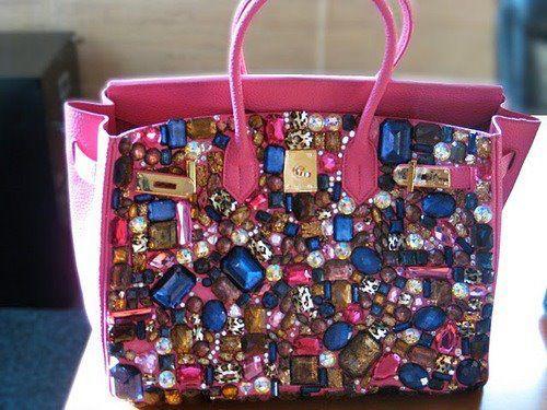 Hermes Handbags.... Holy bling!