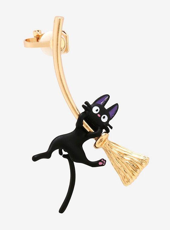 91471be93d2 Her Universe Studio Ghibli Kiki s Delivery Service Jiji Ear Cuff ...