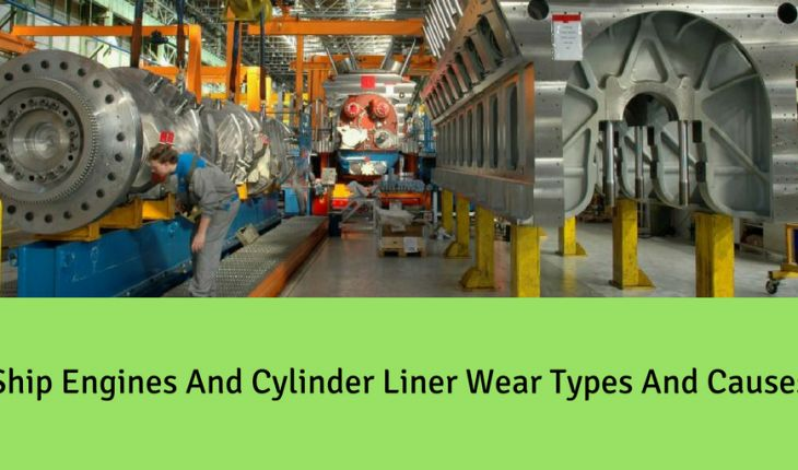 Ship Engines and Cylinder Liner Wear Types and Causes