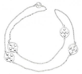 Silver Cross Necklace - Shield of Faith: Silver Cross Necklaces, Silver Crosses Necklaces