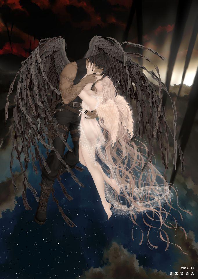 天使と悪魔 3 by SENGA | CREATORS BANK http://creatorsbank.com/senga/works/285908