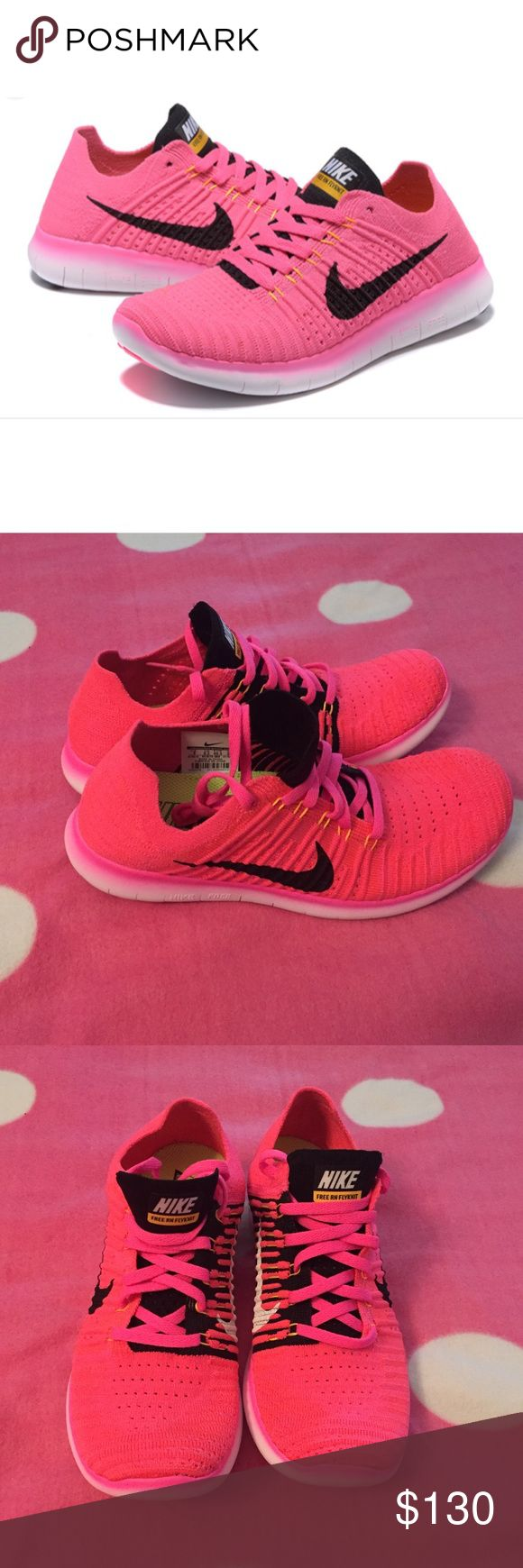Nike free rn flyknit ⬇️PLEASE READ!!!⬇️ Lowballers will be blocked and ignored!  NO TRADES❌❌PLEASE DON'T ASK! I'm not interested in trading AT ALL!  No Holds❌   Please submit all offers through the offer button!  ☑️  Brand new. Size 9 (Women's) comes with original box missing a lid.  I inspect all my items before I ship them out so please be sure to read descriptions before purchasing to prevent any miscommunication. Please ask any questions that's not already in the description Nike Shoes…