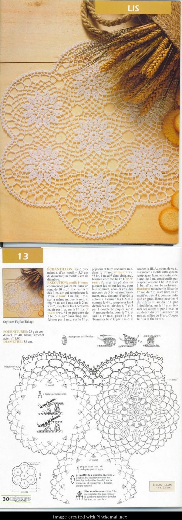 Table doily - created via http://pinthemall.net