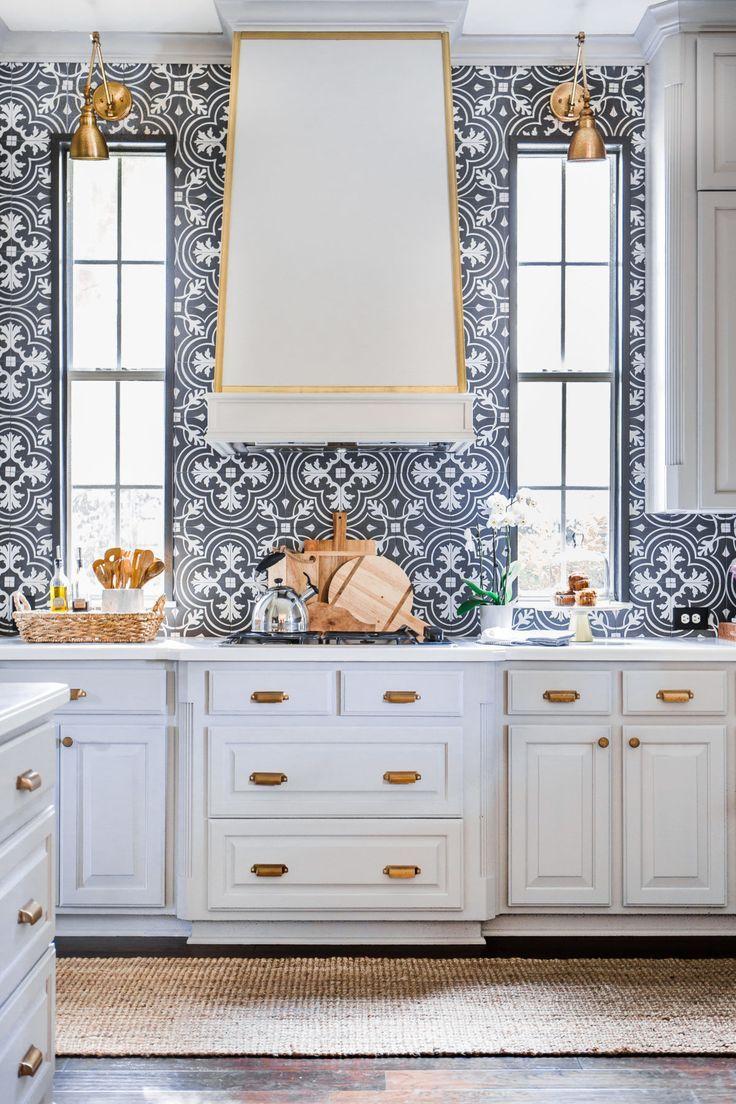Kitchen The Renovation Reveal Hi Sugarplum Kitchen Wallpaper Outdoor Kitchen Countertops Kitchen Remodel