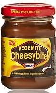 Kraft Vegemite Cheesybite 270g $9.95