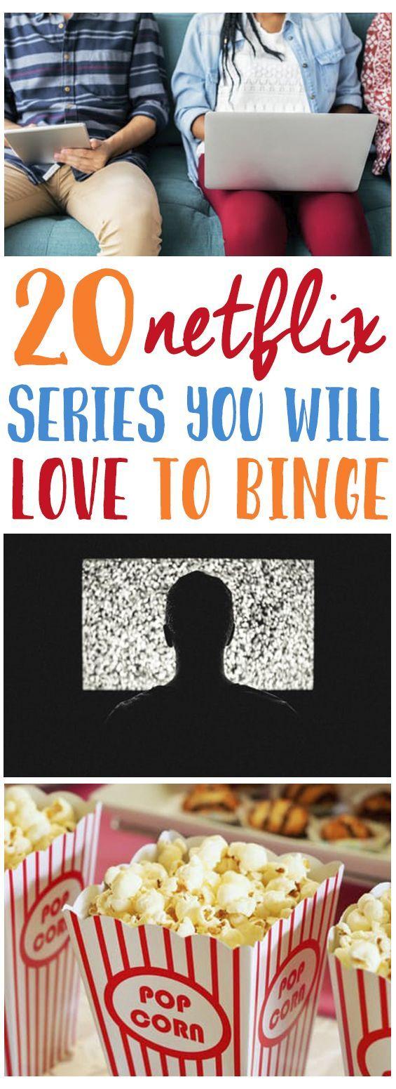 TOP 20 TV SERIES ON NETFLIX YOU'LL DEFINITELY BINGE