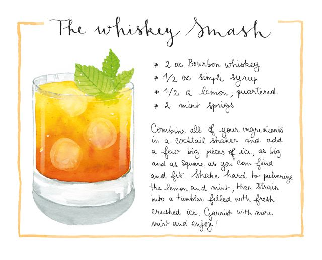 Friday Happy Hour: Whiskey Smash