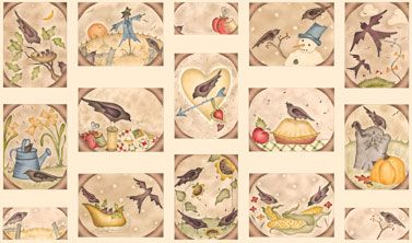 A Year To Crow AboutNewest Fabrics, Fabrics Collection, Years, Roosters Fabrics, Crows