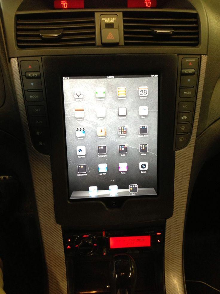 Another Ho Hum Tablet Install Acurazine Community Acura Installation Acura Tl