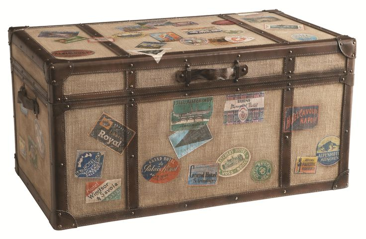 Accents By Hgtv Home Khaki Travel Trunk Cocktail By Hgtv Home Furniture Collection Family