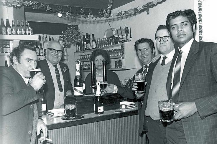 Public houses used to cater just for drinkers as this picture shows of the Black Swan pub in Jackfield sometime in the early 1960s