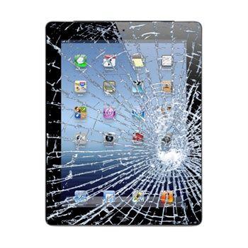 Reparasjon av iPad 4 display glass & skjerm