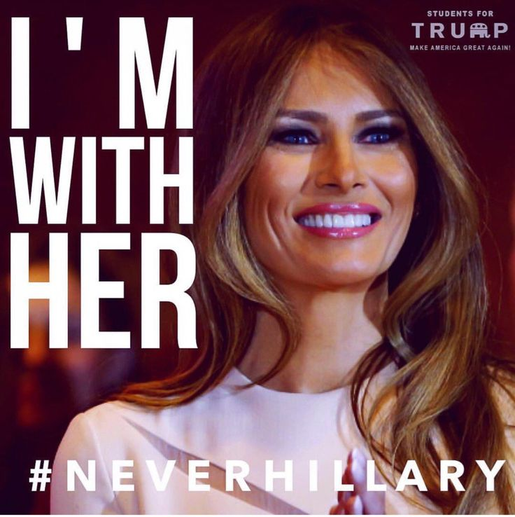 She's got class, elegance, values, compassion, she's intelligent and beautiful, plus she's bringing TRUMP with her, USA!!! He will get rid of the political corruption in our country and make America safe, proud and great again!!!!