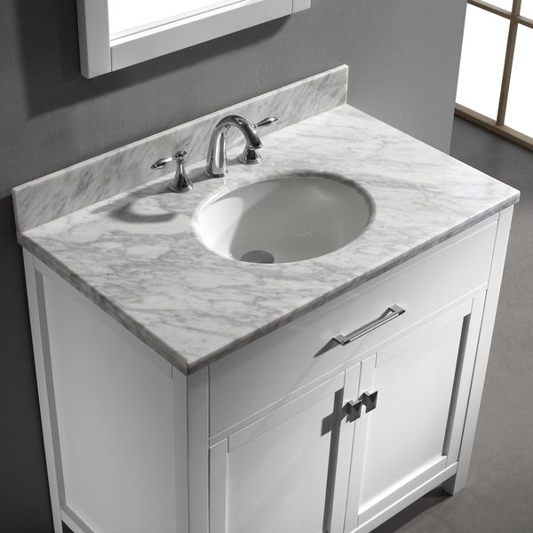 20 best images about small bathroom on pinterest single for Virtu usa caroline 36 inch single sink bathroom vanity set
