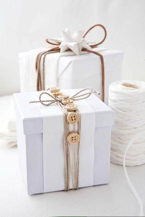 Inpakken met touwtjes en knopen!