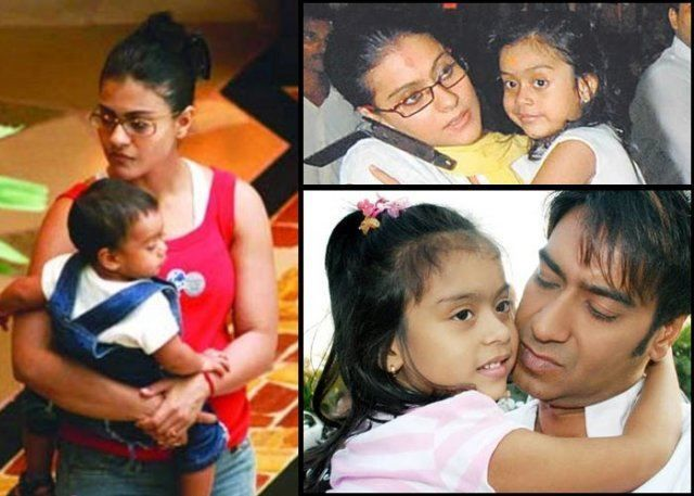 #Bollywood #Stars and Their #Family #Pics #kajol