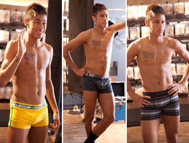 Neymar de cuecas