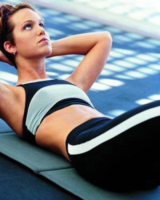 как убрать живот упражнениями картинки