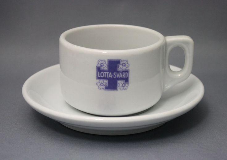 Arabia, kahvikuppi, Lotta Svärd | Astiataivas.fi - Vanhojen astioiden ystävien löytöpaikka