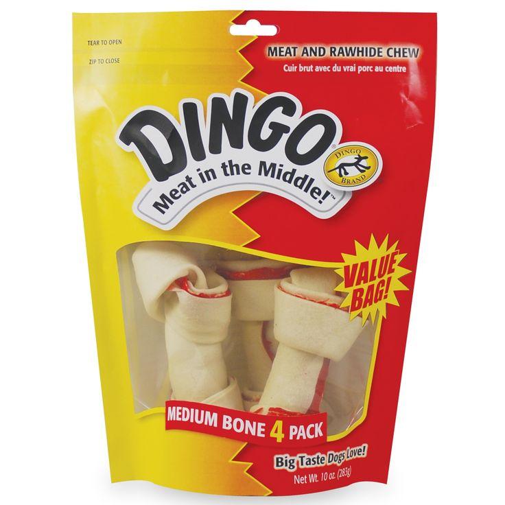8 in 1 Dingo Dog Treats 4 Count