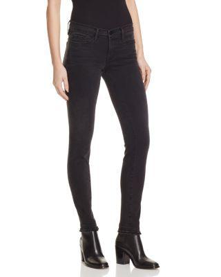 FRAME Skinny De Jeanne Double Raw Jeans In Whittier. #frame #cloth #whittier