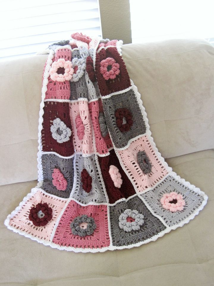 Field of Dreams Baby Blanket colors: