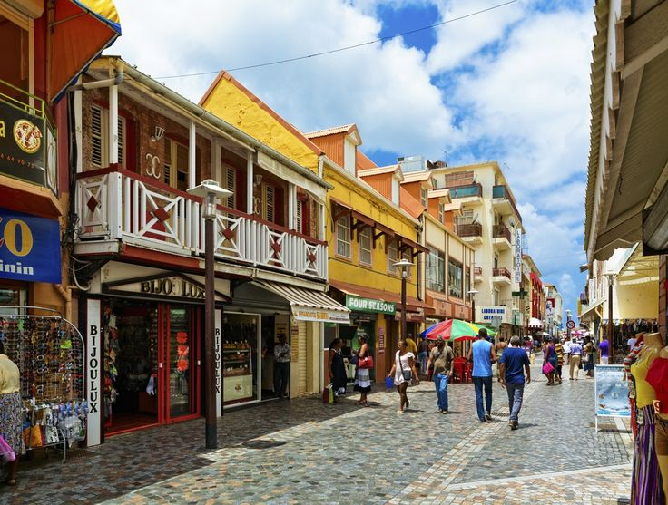 Fort-de-France the capital of Martinique, and the largest city in the French West Indies.