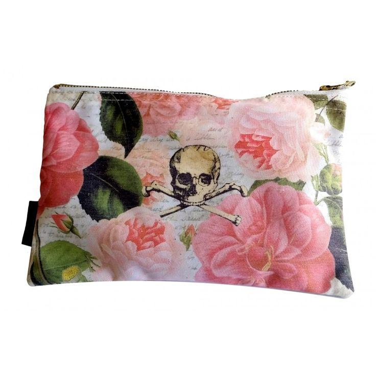 Skull Make Up Bag