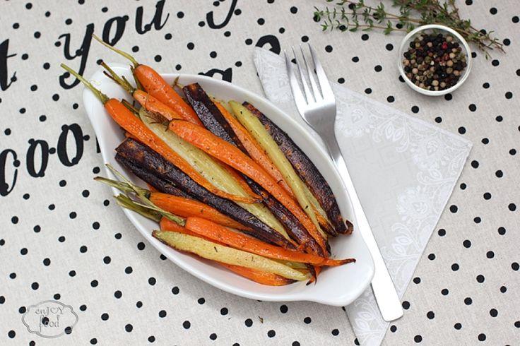 Roasted carrots - Morcovi copti