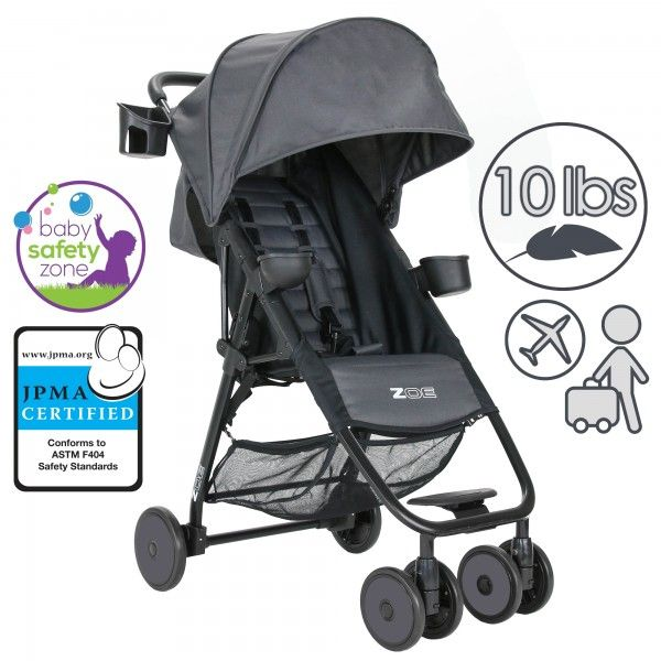 ZOE XL1 BEST | ZOE Strollers – Lightweight, High-End, Urban Travel Strollers for On-The-Go Parents!