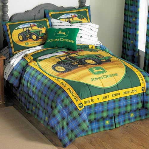john deere toddler room - Dustin and Chace