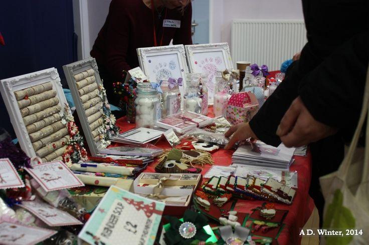 13/12/2014 Craft Fair, Bedford Sq Community Centre., Houghton Regis