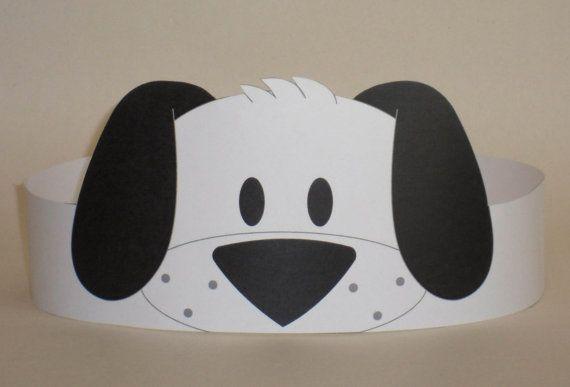 Puppy (Black & White) Crown