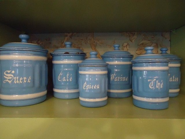 French Country Canister Set.