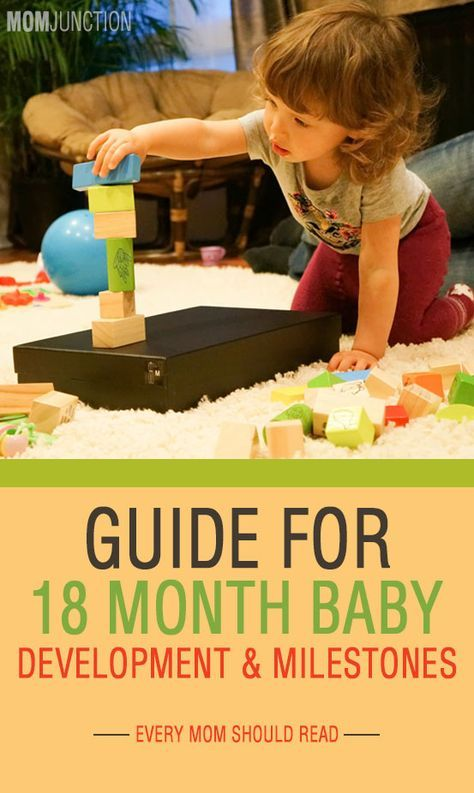 Baby's 18th Month - A Guide To Development And Milestones