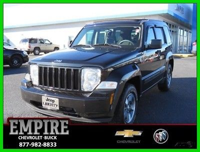 eBay: 2008 Jeep Liberty 4WD 4dr Sport 2008 4WD 4dr Sport Used 3.7L V6 12V Automatic 4WD SUV #jeep #jeeplife