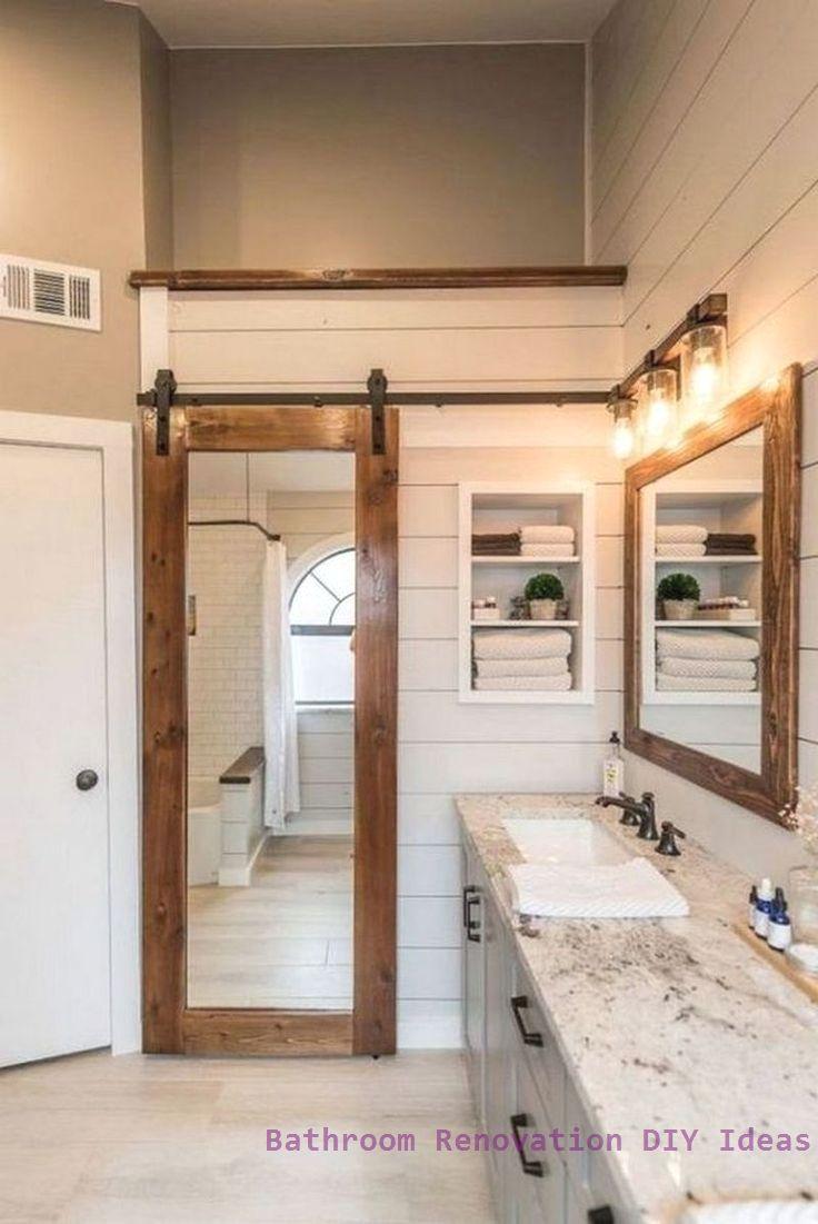 15 Diy Ideas For Bathroom Renovations 1 In 2020 Bathroom Remodel