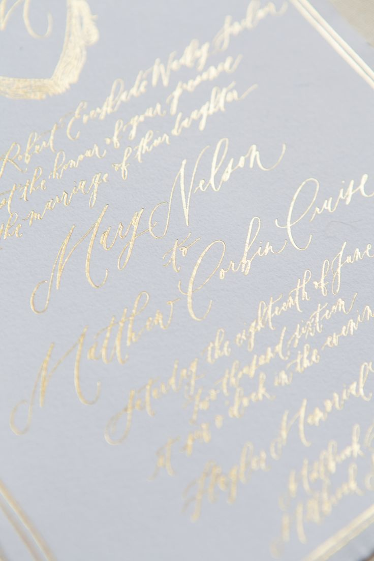 65 Best Written Word Calligraphy Wedding Invitations Images On