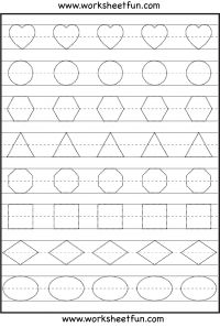 Pre Writing Worksheets - FREE PRINTABLE WORKSHEETS