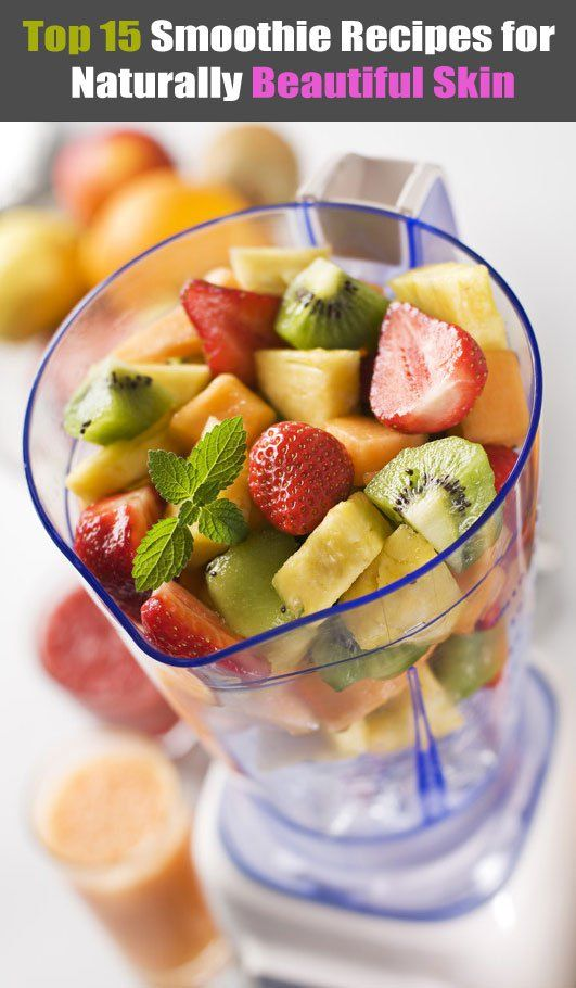 Top 15 Smoothie Recipes for Naturally Beautiful Skin