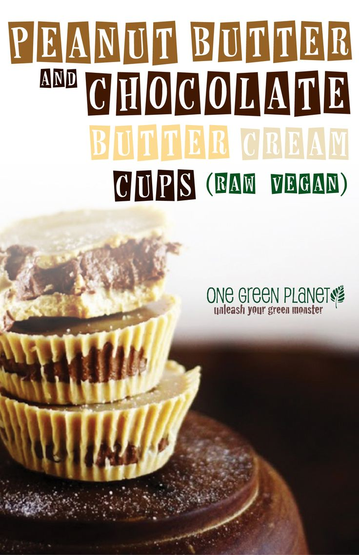 Peanut Butter and Chocolate Butter Cream Cups