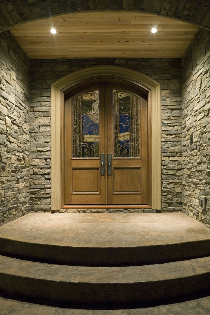 296 best images about home design front doors on pinterest for Double door house entrance
