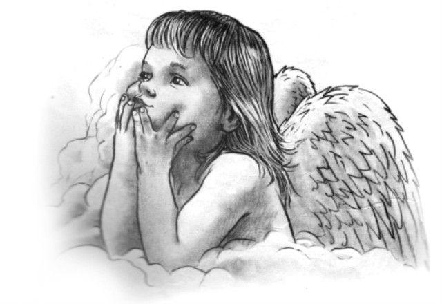DISEGNI TATUAGGI ANGEL