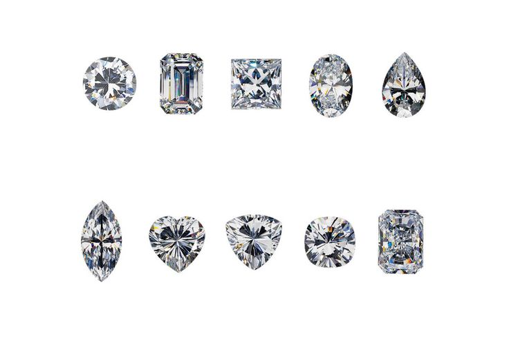 10 of the most popular Diamond cuts.   Whats your favourite?