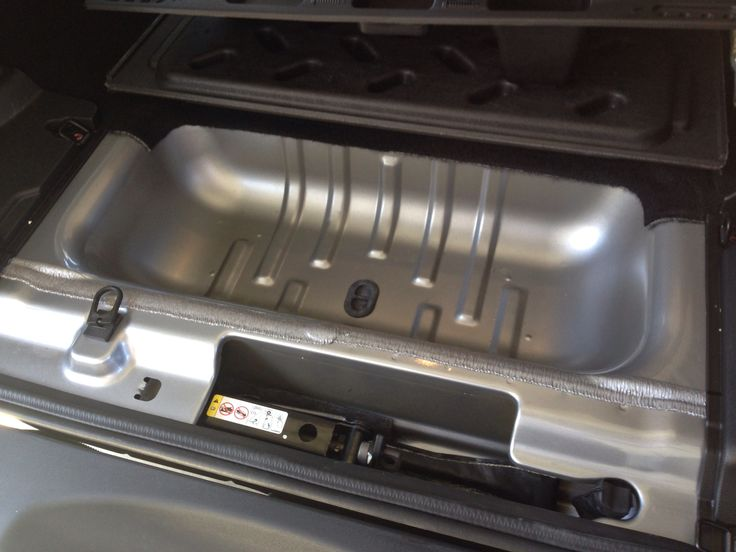 The Rear Under Floor Storage On Jeep Jk Is Begging To Be A