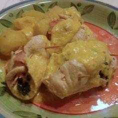 Ricetta Involtini spinacini pubblicata da Mammarta - Questa ricetta è nella categoria Secondi piatti a base di carne e salumi