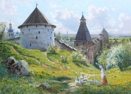 Святая земля, автор Владимир. Артклуб Gallerix